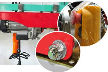 钢丝绳电动葫芦生产厂家
